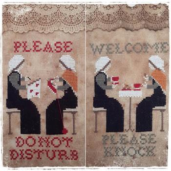 Welcome Please Knock - PleaseDo Not Disturb