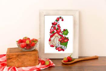 Gnome Aux Fraises (StrawberryGnome)