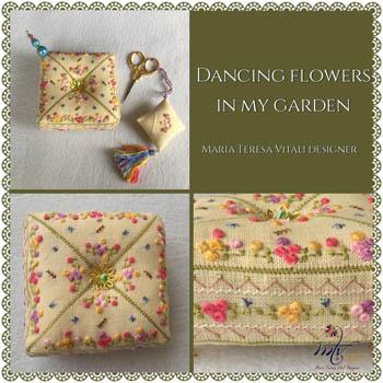 Dancing Flowers In My Garden