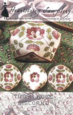 Tudor Rose Biscornu