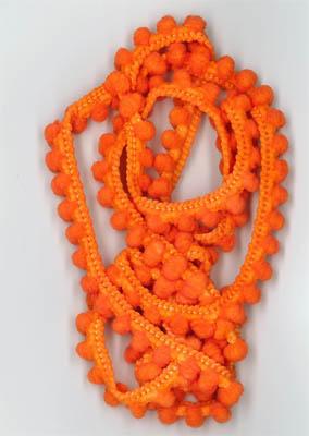 Fra-Orange Pom Pom (1yd)