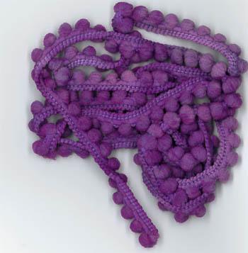Vam-Purple Pom Pom