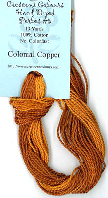 Colonial Copper-Perle Cotton 5