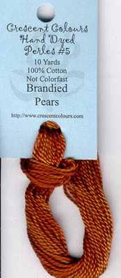 Brandied Pears-Perle Cotton 5