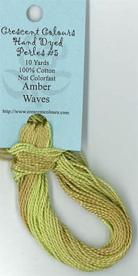 Amber Wave - Perle Cotton 5