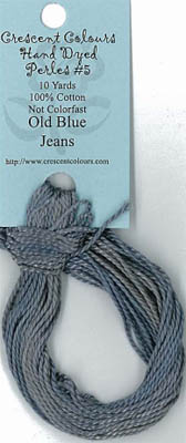 Old Blue Jean - Perle Cotton 5