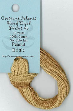 Peanut Brittle-Perle Cotton 5